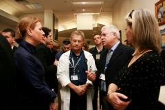 ציפי לבני בביקור במרכז הרפואי אסף הרופא. צילום: איציק אדרי